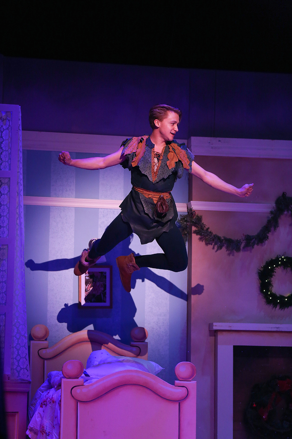 """Riley Costello in Lythgoe Family Panto's PETER PAN AND TINKER BELL â€"""" A PIRATES CHRISTMAS. Photo credit: Cathy Cunningham Photography."""